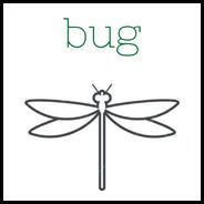 Bug-logo